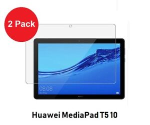 2 x Flim Screen Protector for Huawei MediaPad T5 10 Tablet Device only