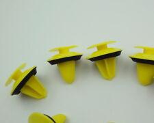 10x Türverkleidung Abdeckung Clips Befestigung Klips Halter Panel gelb 57C 8mm