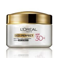 L'Oreal Paris Age 30+Anti Fine Line+Whitening spf 21 pa+++Skin Perfect Cream 50g