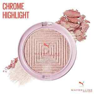 MAYBELLINE x Puma Chrome Highlighter KNOCKOUT Highlighting Powder Strobing NEW!