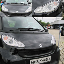 SCHEINWERFERRAHMEN IN CHROM FÜR Smart FORTWO Coupé & Cabrio 451 ab Bj. 2007 ->>>
