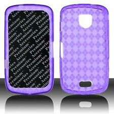 Samsung Droid Charge TPU CANDY GEL FLEXI Crystal Skin Case Phone Cover Purple