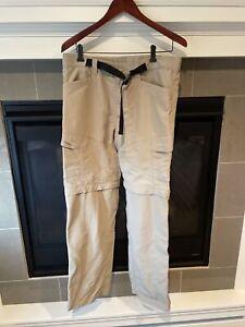 Mens The North Face Tan Casual Outdoor Pants Size Medium EUC