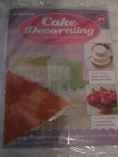 Deagostini Cake Decorating Magazine ISSUE 21 WITH TEXTURE TRIANGLE
