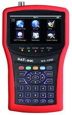 New SATLINK WS-6960 DVB-S & DVB-S2 FTA HD Satellite Finder Satellite TV Receiver