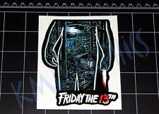 Friday the 13th movie logo decal sticker Jason Vorhees Crystal Lake 80s horror