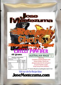 Gourmet Reaper Ghost Chilli Powder with Carolina Reaper 40 gram