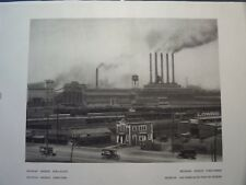 Ford Auto Factory Rouge Complex Dearborn Detroit Michigan 1927 E Hoppe Photo #2