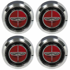 New 1970-77 LTD Wheel Center Caps 4-Piece Magnum 500 1970-71 Torino Ford