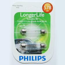 Philips 578 - 12.42w 12.8v T3 LL Rigid Loop Base Automotive Bulb - 2 Pack