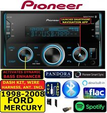 1998-2008 FORD-MERCURY PIONEER BLUETOOTH AUX USB CAR RADIO STEREO