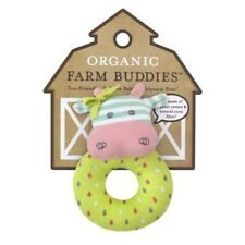 Baby Eco Friendly Organic Farm Buddies Rattle