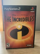 The Incredibles (Sony PlayStation 2, 2004) Ps2 Video Game