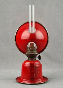 Veritas Kosmos Kerosene Paraffin Oil Reading Student Finger Wall Lamp c1932
