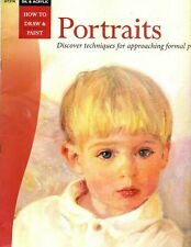 PORTRAITS, How to Draw & Paint Walter Foster BOOK, Oil & Acrylic