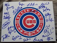 2018 South Bend Cubs Team Signed Photo Brendon Little Miguel Amaya Auto Chicago