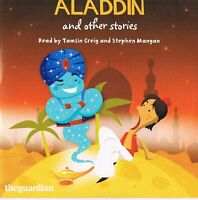 Aladdin And Other Stories Read by Tamsin Grieg & S. Mangan - Audio CD N/Paper