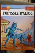 BD alix l'odyssée d'alix tome 2 réédition 1999 TBE martin simon