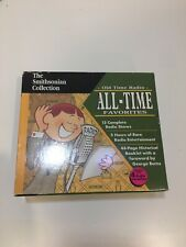 Old Time Radio All-Time Favorites (1995, Cassette / Hardcover, Collector's)