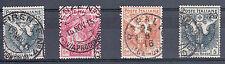REGNO - 1915/1916 - Croce Rossa - Serie completa (102/105) - U