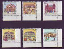 BRD 1991 postfrisch MiNr. 1563-1568 Eckrand unten rechts  Historische Posthäuser