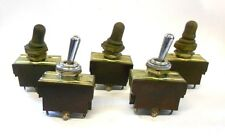 UKNOWN BRAND, TOGGLE SWITCHES, LOT OF 5, 125/250V, ST210N