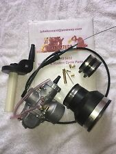 Maico Square Barrel 34mm Mikuni / Jets / Manifolds /Throttle & Cable NEW!