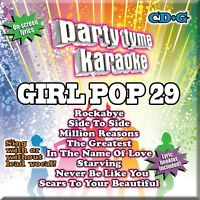 Party Tyme Karaoke: Girl Pop, Vol. 29 by Karaoke (CD, May-2017, Sybersound) NEW