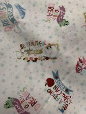 Disney Princess Word Fabric By The Yard
