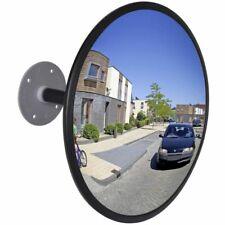 vidaXL Verkeersspiegel voor Binnen 30 cm Zwart Veiligheidsspiegel Spiegel