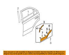 KIA OEM 03-06 Sorento REAR DOOR-Body Side Molding Left 877503E001XX