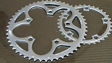 (2x) SRAM POWERGLIDE Road Bike Chainrings 110bcd COMPACT (34 + 50t) 10s (NEW)