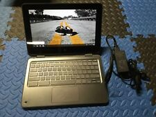 "HP Chromebook X360 11 G1 11.6"" Touchscreen Celeron N3350 1.1GHz 4GB 32GB"