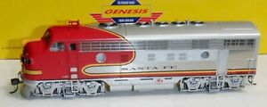 Athearn Genesis HO - Santa Fe F-7 A/B set - #47A/47L   - 99041 - DCC Sound