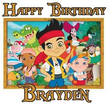 Custom Jake and the Neverland Pirates Youth t shirt Personalize Birthday gift