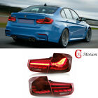 NEW GTS Style LED Taillights Red for BMW 3 Series F30 Sedan & M3 F80 ( 2013-2018