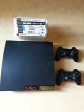 Console Sony PS3 Slim 250 GB noire + 2 Manettes PS3