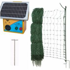 Premium Electric Poultry Netting Kit - 50m - Mesh Fence and Energiser