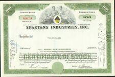 DECO => SPARTANS INDUSTRIES (USA) (X)