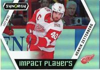 17/18 UPPER DECK SYNERGY IMPACT PLAYERS #IP-2 HENRIK ZETTERBERG RED WINGS *47105