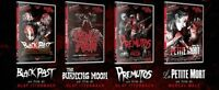 Spasmo Video 4 DVD: Black Past - The Burning Moon - Premutos - La Petite Mort