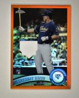 2020 Topps Chrome Retro Rookie Relic Orange #RRCR-AR Anthony Rizzo 1/25