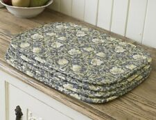 William Morris Pimpernel Cream 4 Quilted Cotton Place mats