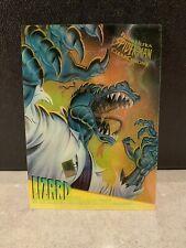 1995 Fleer Ultra Spider-Man Clearchrome Insert Lizard 5 of 10