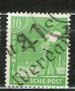SBZ Handstempel 169X 41 Werdau 2 gestempelt geprüft von Dr.Böheim BPP