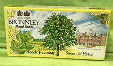Vintage Bronnley Beech Tree Bar Hand Soap - 3 @ 3.5 oz each - NEW NIB