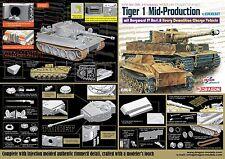 1/35 Dragon Tiger I Mid-Prod w/Zim mit Borgward IV Ausf.A Heavy Demo Veh #6866