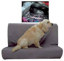 REAR SEAT BENCH PROTECTOR / BOOTLINER GREY WATER RESISTANT HEAVY DUTY UNIVERSAL