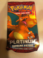 Pokemon TCG Platinum Supreme Victors booster pack