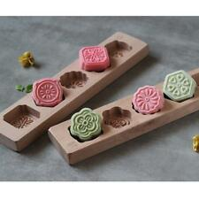 Wooden Moon Cake Mooncake Decoration Mold Mould Flowers DIY Baking Tools #2